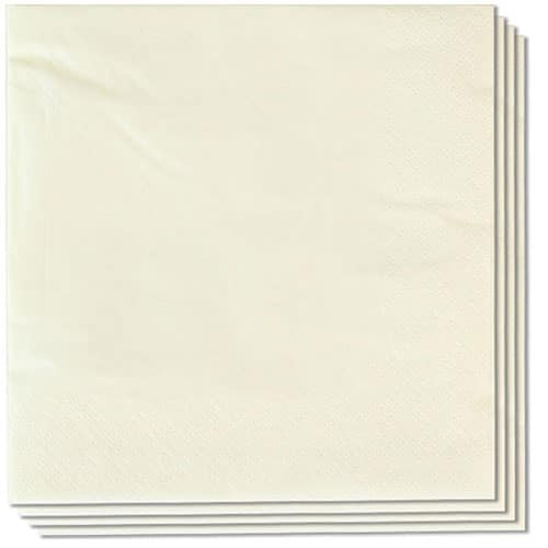 Butter Cream Napkins 40cm 2Ply - Pack of 100