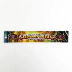 Crackling Hand-Held Sparklers 25cm - Pack of 5