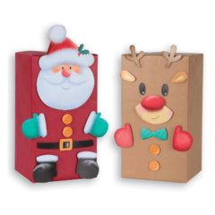 Create Your Own Present Character Christmas Craft Set