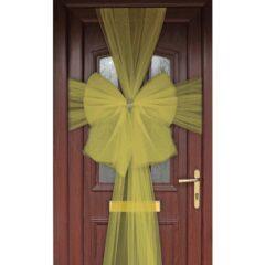 Gold Door Bow Decoration