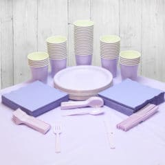 Lilac 56 Person Party Pack