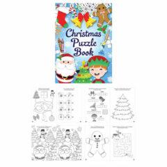 Mini Christmas Puzzle Book
