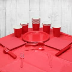 Red 14 Person Party Pack
