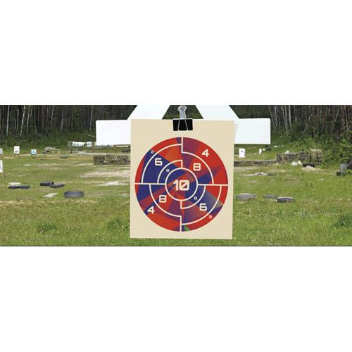 Field Nurf Target PVC Party Sign Decoration 60cm x 25cm