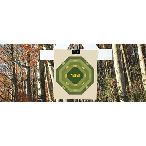 Forest Nurf Target PVC Party Sign Decoration 60cm x 25cm