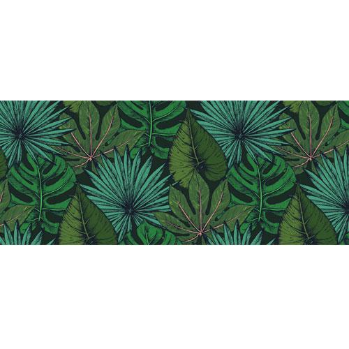 Tropical Leaves Assortment PVC Party Sign Decoration 60cm x 25cm