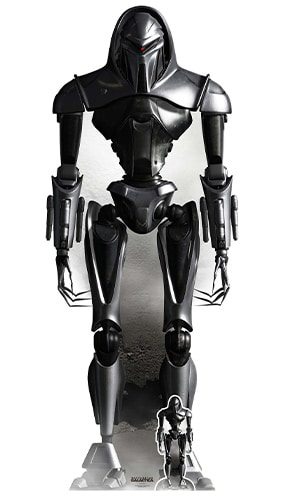 Cylon Cybernetic Lifeform Node Battlestar Galactica Lifesize Cardboard Cutout 195cm