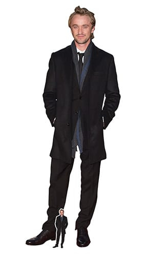 Tom Felton Smart Tie Lifesize Cardboard Cutout 176cm