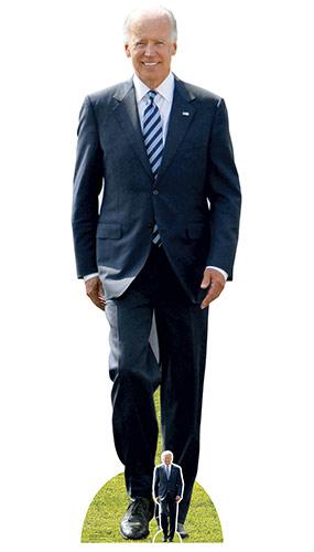 USA President Joe Biden Lifesize Cardboard Cutout 183cm