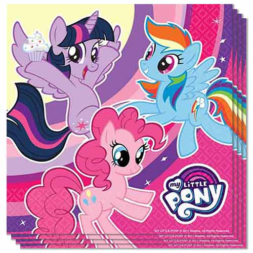 My Little Pony Luncheon Napkins 33cm 2Ply - Pack of 20