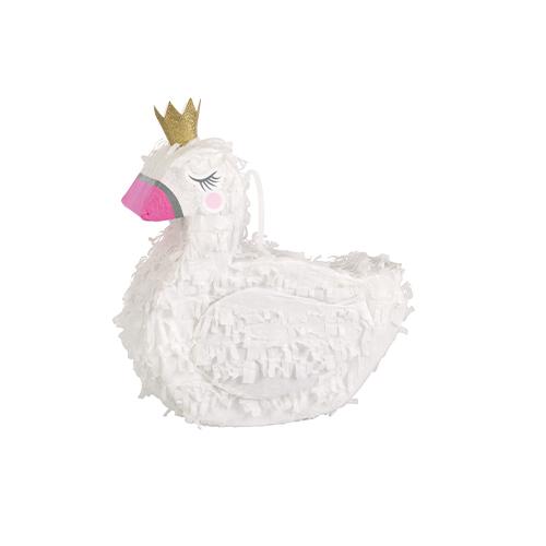 Swan Mini Pinata Decoration 20cm