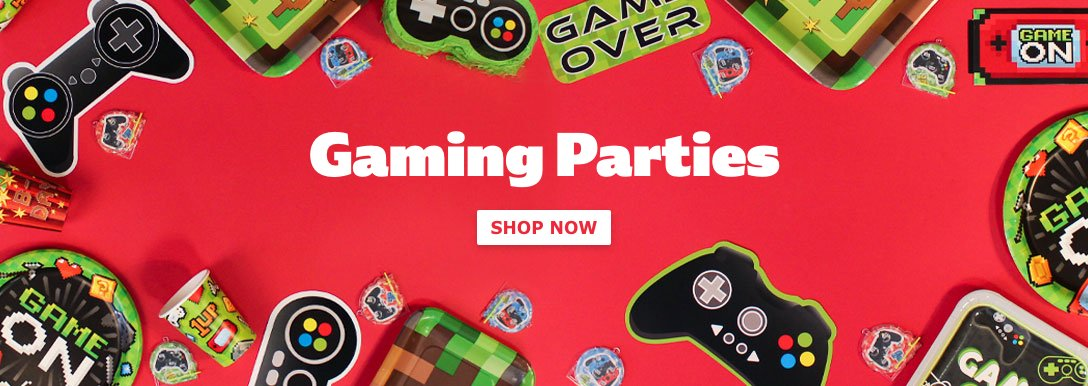 Gaming & Minecraft Party Supplies